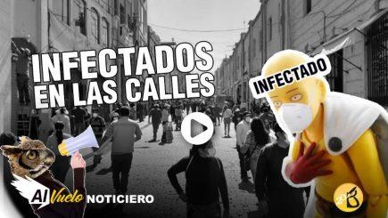 Infectado en las calles | AL VUELO noticias desde Arequipa – Perú 02/06/20