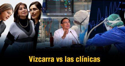 Vizcarra anunció posible expropiación a clínicas |  Al vuelo, noticias desde Arequipa