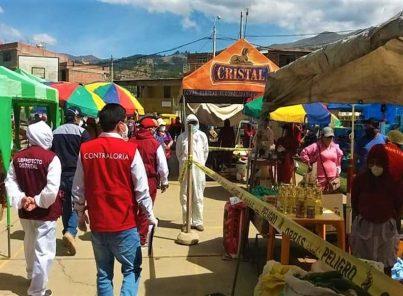 Arequipa: 11 casos de coronavirus en mercado Río Seco y feria itinerante