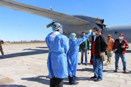 La visita del Ministro Montenegro ante la crisis de hospitales en Arequipa