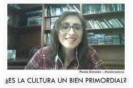 Conversatorio: ¿es la cultura un bien primordial?