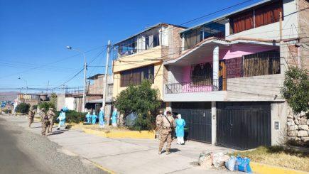 Arequipa: se identifican a 18 pacientes con coronavirus durante visitas domiciliarias