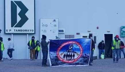 Mineros de Tambomayo exigen pasar pruebas para descartar el Covid-19