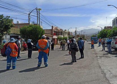 Arequipa: trabajador municipal fallece por Covid-19 y se generan protestas