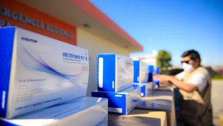 Arequipa: distribuirán pruebas rápidas a centros de salud de provincias