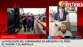 La evolución del coronavirus en Arequipa y el Perú – Entrevista a Ragi Burhum