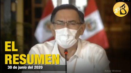 Fin de cuarentena: resumen del mensaje presidencial 30 de junio