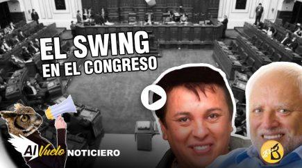 El Swing en el Congreso |  Al vuelo, noticias desde Arequipa
