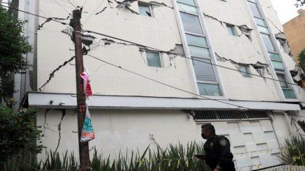 México: Imágenes revelan el temor de la población durante el terremoto