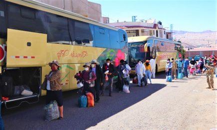 Programan viajes humanitarios de retorno de Lima para siguiente semana