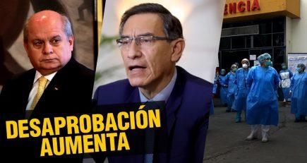 Aprobación de la gestión de Martín Vizcarra vuelve a bajar |  Al vuelo, noticias desde Arequipa