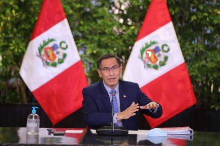 Presidente Vizcarra convocó a Elecciones Generales para el 11 de abril de 2021