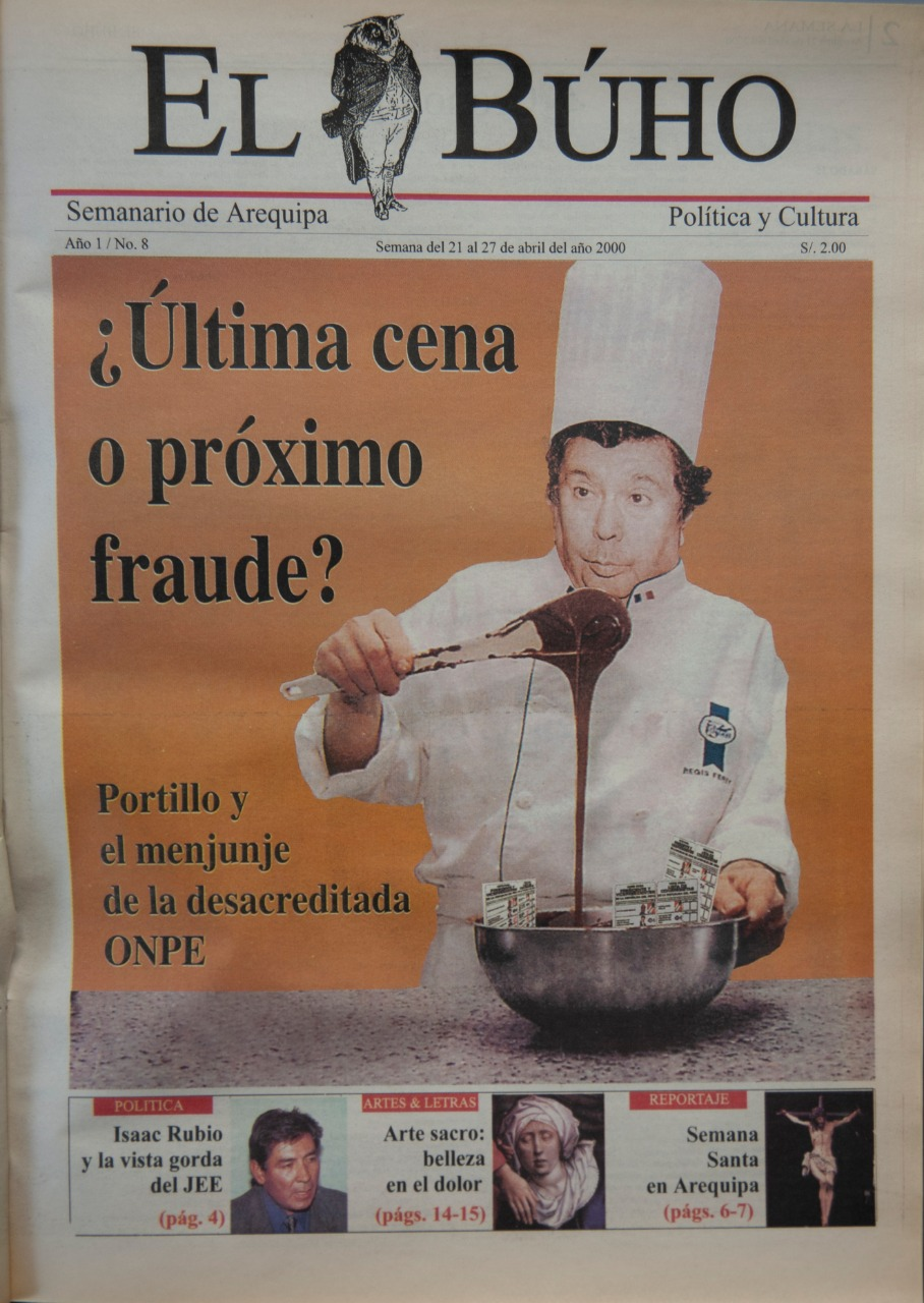 portada sobre elecciones  el buho