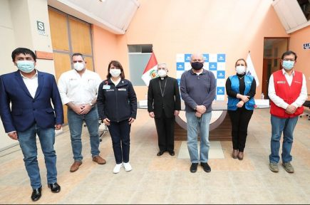 Arequipa: autoridades apelan a la unidad para vencer el coronavirus