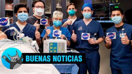 Peruanos logran licencia de la NASA para construir ventiladores mecánicos