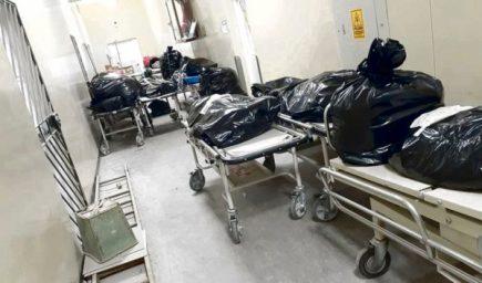 Arequipa: cadáveres apilados en pasillos del hospital covid
