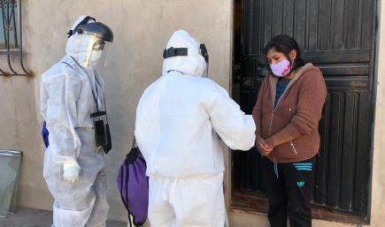 Celia Capira y su invocación a mejorar la atención de los enfermos de covid