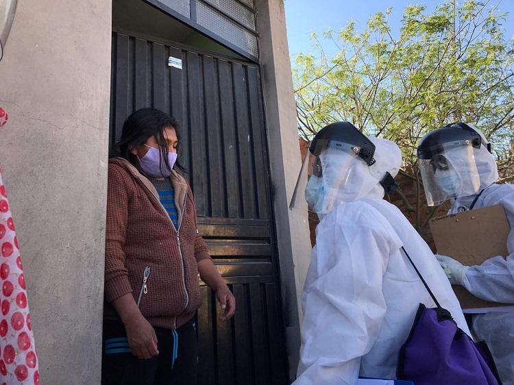 celia y el covid en Arequipa