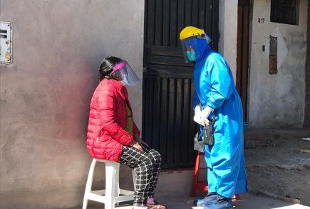 Celia Capira y sus hijos en aislamiento tras infectarse con covid-19