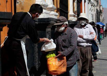 Comedor del Arzobispado ahora reparte 290 almuerzos diarios