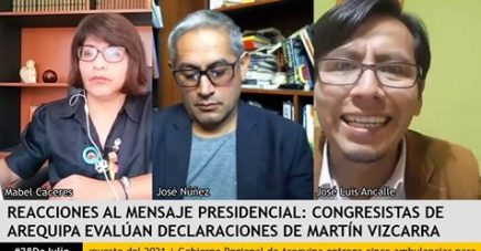 Análisis del mensaje presidencial – congresistas por Arequipa