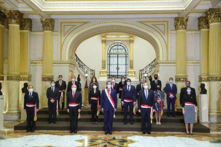 Perú: este es el nuevo Consejo de Ministros, a cargo de Pedro Cateriano