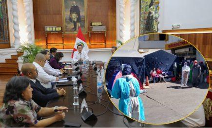 Consejo de Ministros decide este miércoles si asume control de Salud en Arequipa