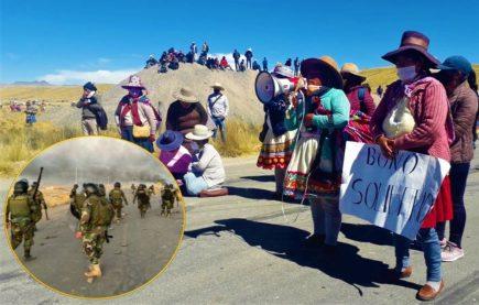 Conflicto social en Espinar: PCM suspende diálogo tras enfrentamientos por minera