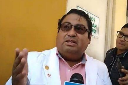 Arequipa: Gerente de Salud hospitalizado por delicado estado de salud