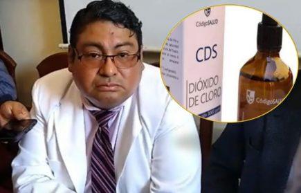 Gerente de Salud se retracta: no tomen dióxido de cloro por producir complicaciones
