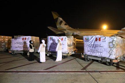 Emiratos Árabes Unidos en la vanguardia de campaña de ayuda contra covid-19