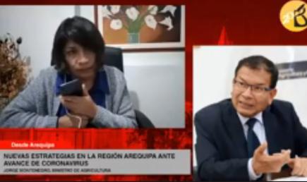 Jorge Montenegro: cierre total de la ciudad de Arequipa es inviable