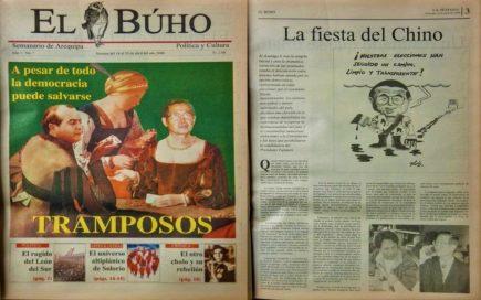 #Hace20años Toledo vs. Fujimori: A pesar de todo la democracia puede salvarse