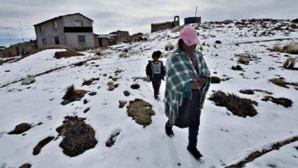 Arequipa: Senamhi alerta de descenso de temperatura hasta -18°C