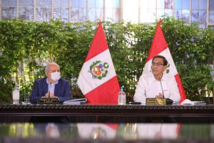 Esto dijeron Martín Vizcarra y su nuevo gabinete de ministros (VIDEO)
