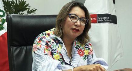 Coronavirus: Confirman contagio de ministra de la Producción Rocío Barrios