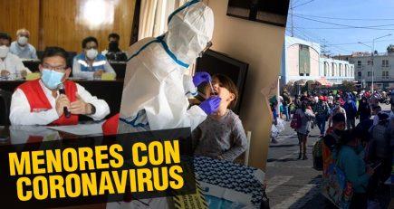 En Arequipa hay 445 menores de edad con coronavirus |  Al vuelo, noticias desde Arequipa