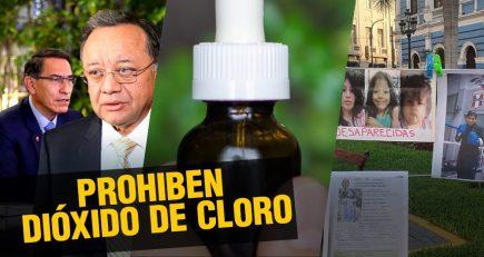 Uso de CDS o dióxido de cloro es prohibido por Indecopi |  Al vuelo, noticias desde Arequipa