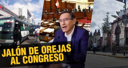 Vizcarra pide reformas al Congreso | Al vuelo, noticias desde Arequipa