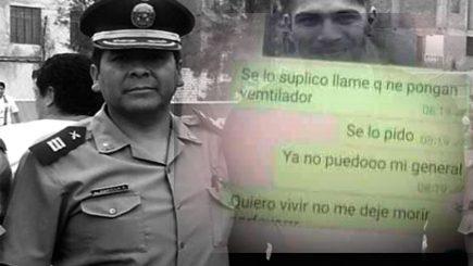 """""""Se lo suplico, no me deje morir"""": el último pedido de un policía a su superior"""