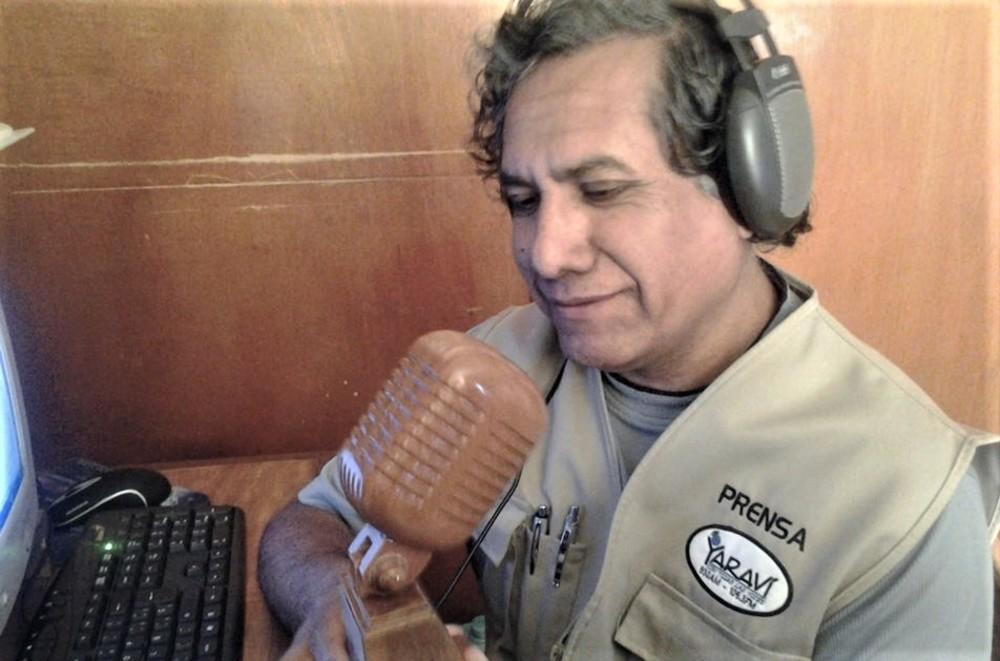 Hugo Condori periodista de Arequipa