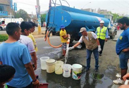Arequipa: 7 distritos siguen sin agua potable, aquí zonas de cisternas
