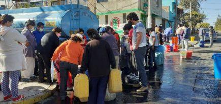 Así vivió Arequipa 6 días sin servicio de agua en plena pandemia (video)