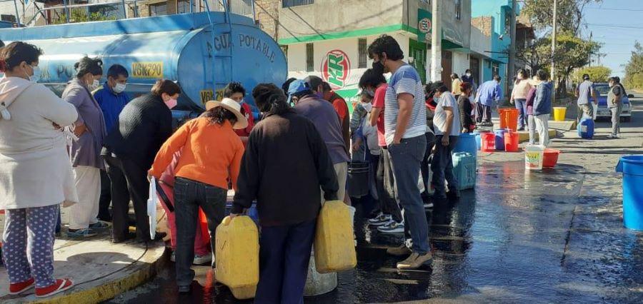 Se repuso el agua potable en 7 distritos