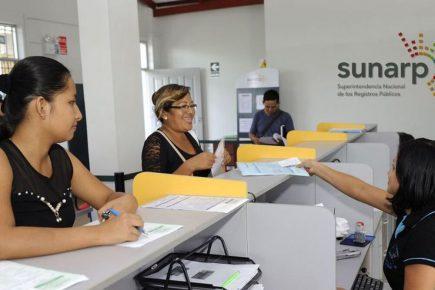 Sunarp habilita trámites por Internet, aquí los detalles