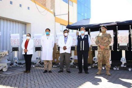 Arequipa: amplían a 57 camas UCI capacidad de hospital Honorio Delgado