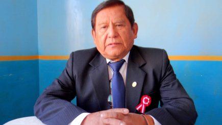 Gobernador de Moquegua es llevado a Lima para ser tratado por covid-19