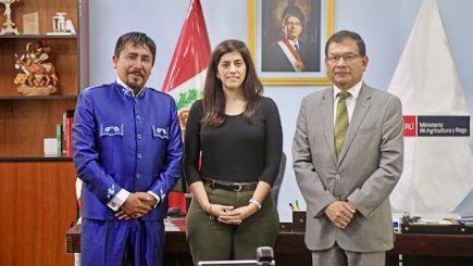 Ministra de Economía se reunirá con Cáceres Llica por transferencia de Majes II