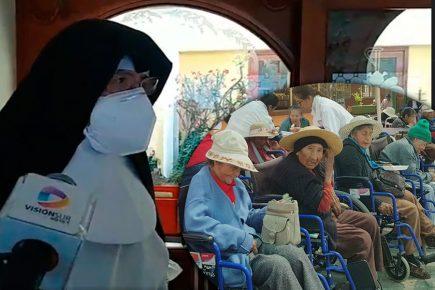Asilo Lira reporta 70% de sus residentes contagiados con coronavirus