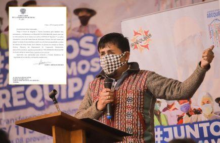 Arequipa: Esta fue la respuesta de Rusia al gobernador Cáceres Llica